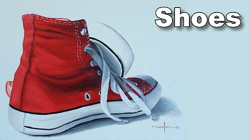 how to paint shoes sneakers